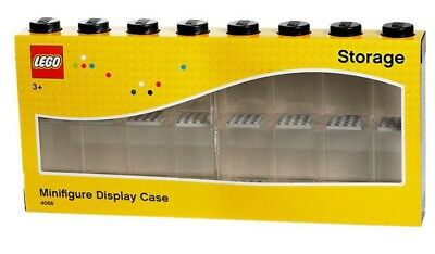 NEW LEGO Minifigure Display Case Black 16 - One Only from Mr Toys