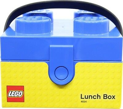 NEW LEGO Lunch Box Blue from Mr Toys