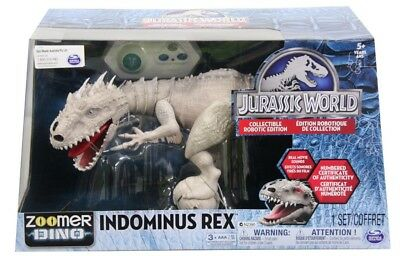 NEW Zoomer Jurassic World Indominus Rex from Mr Toys