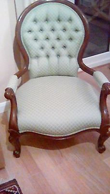Antique Queen Anne Style Chair