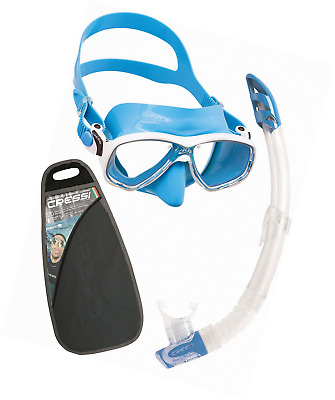 Cressi Marea Dry / Vip / Mexico - Adult Snorkeling and Diving Premium Combo Set