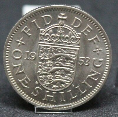 1953 English Elizabeth II 1 Shilling***Collectors***UNC***