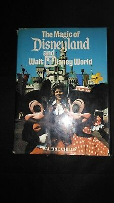 The Magic of Disneyland and Walt Disney World Vintage Large Hardback Book (1979)