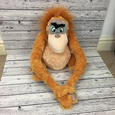 Disney store Plush King Louie Jungle Book soft toy Orangutang approx 14""