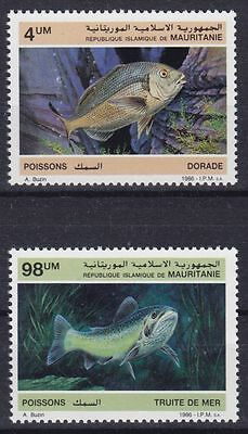 Mauretanien Mi-Nr. 899 - 900 **, Fische / Fishes / Poissons