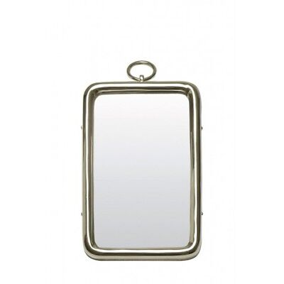 Design Spiegel 27x45 cm PAST Nickel (98497301119)