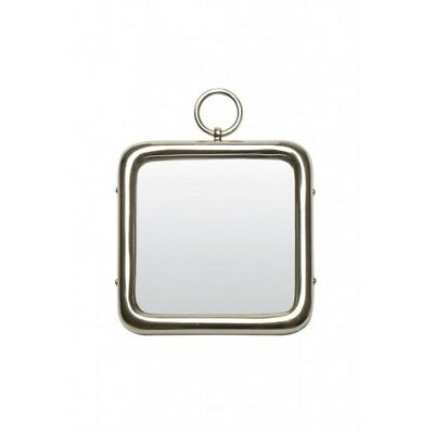 Design Spiegel 27x27 cm PAST Nickel (98497301019)