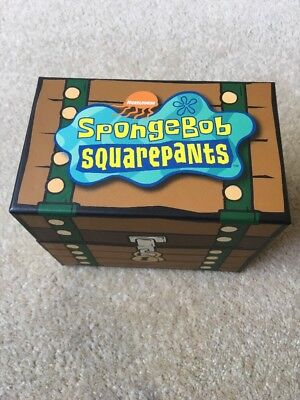 SPONGEBOB SQUAREPANTS Collector Cards And BOX VIACOM 2006 And Over 40 Cards RARE
