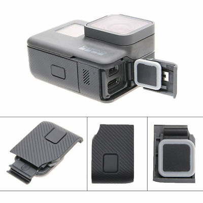 Camera USB Port HDMI Side Door Case Cover Replacement Repair for Gopro 5 Black