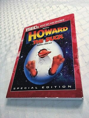 Howard the Duck Special Edition DVD w/Slip Cover R1 NEW SEALED Marvel 80s Action