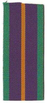 """Accumulated Campaign Medal 6"""" Full Size Ribbon / Great Britain"""