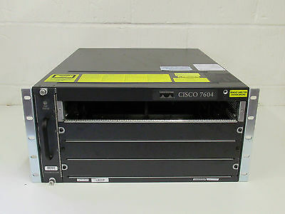 Cisco 7604 + Fan-Mod-4Hs. 90 Day Warranty. Free Uk Shipping.