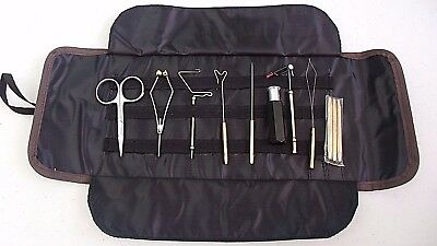 Fly Tying Tool Kit with Pouch ~ New ~ Free Shipping