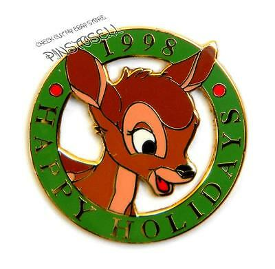 Bambi 1998 Happy Holidays Cast Member Exclusive Disney Pin