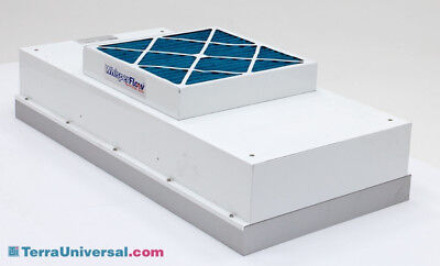 Terra Universal Fan Filter Unit and HEPA Filter, WhisperFlow,  Clean Room Use