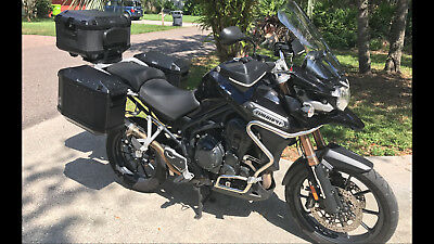 2013 Triumph Tiger Explorer  2013 Triumph Tiger Explorer 1200 Adventure motorcycle road off-road bike touring