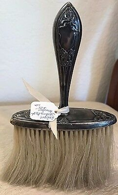 Antique Sterling Silver Horse Hair Brush