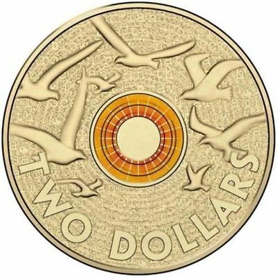 2015 Uncirculated Orange coloured $2 from Mint roll - Flanders Field