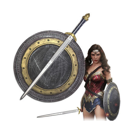 Wonder Woman Cosplay Sword & Shield Polyurethane Foam Cos Prop New Halloween