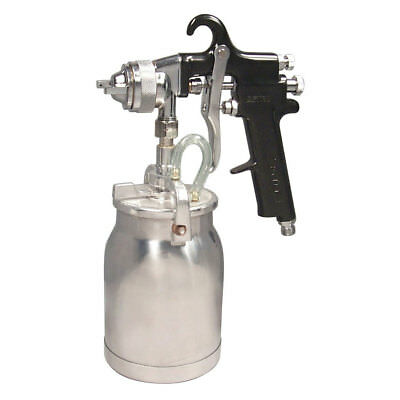 Astro Pneumatic AS7SP Spray Gun with Cup, Black Handle, 1.8mm Nozzle New
