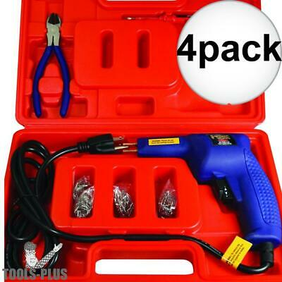 Astro Pneumatic 7600 4pk Hot Staple Gun Kit for Plastic Repair New