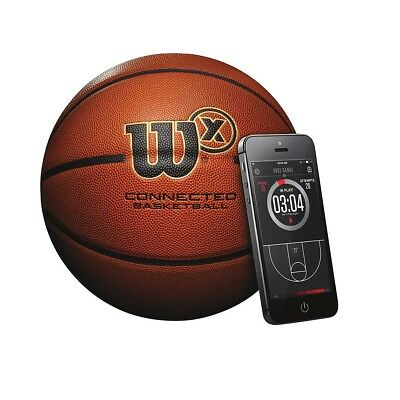 NEW Wilson X Connect Basketball   from Rebel Sport