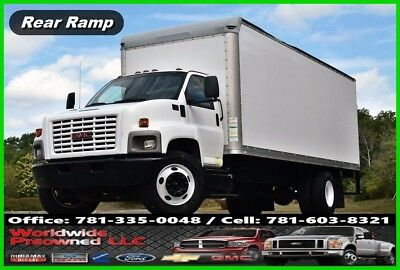 2007 GMC C7500 Regular Cab 24ft Box Truck 7.8L Duramax Diesel Chevy Chevrolet