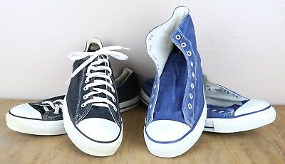 2 Pair Vintage Converse All Stars Made In Usa Size 13
