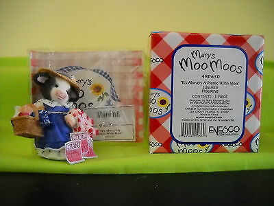 "Mary's Moo Moos ""four Seasons Appreciation-Summer"" Sty#480630 Rare W/box"