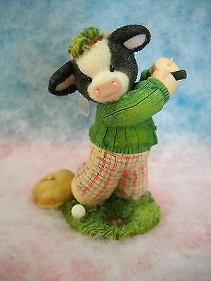 Mary's Moo Moos My Hat's Off To Moo/golfer Sty#485047 010Mm839 W/box