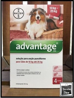 Bayer for Large Dogs Red 10kg-25kg (21lb-55 lb)    FREE SHIPPING