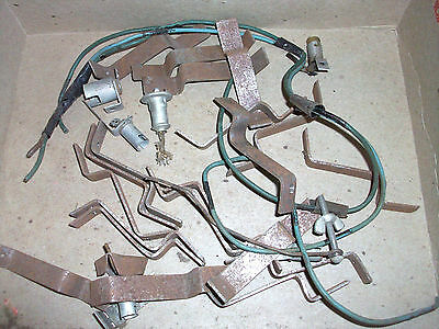 Lot Original Jennings Slotmachine Light up Brackets and Sockets