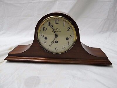 """1960's Vintage Seth Thomas Mantle Clock 1302 18"""" Westminster Chime For Parts!!"""