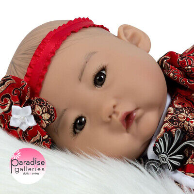 Paradise Galleries Reborn Asian Baby Doll Baby Mei - 20 inch Chinese Girl Doll