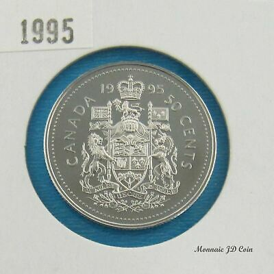 1995  Canada 50 Cent Proof Ultra Heavy Cameo  From Set