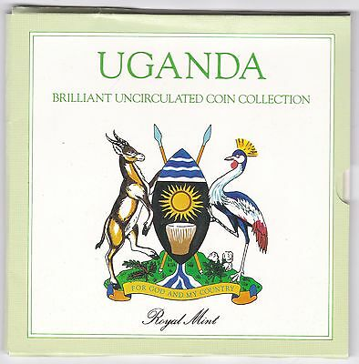 1987 Uganda Brilliant Uncirculated Coin Set***Collectors***