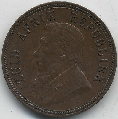 1894 South Africa One Penny***High Grade***Collectors***