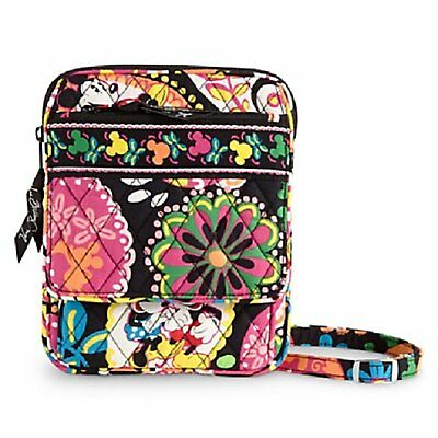 NWT Vera Bradley Disney Mini Hipster in Midnight with Mickey Mouse & Minnie