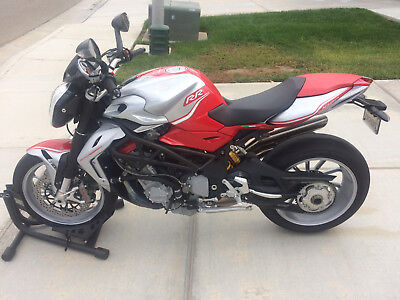 2013 MV Agusta Brutale 1090 RR  2013 MV Agusta Brutale 1090 RR, Red/Silver, Low Miles, Warranty Until 5/2018