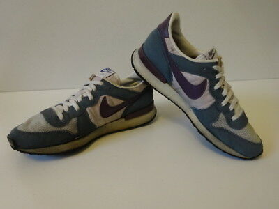 Vintage 80s Original NIKE 1989 TERRA TRAINER Running Shoes US 7.5  * Made in USA