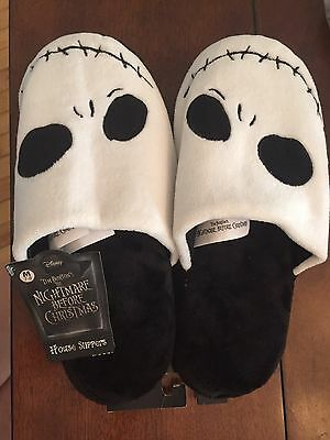 Disney's Nightmare Before Christmas Jack House Slippers Size Medium (7-8)