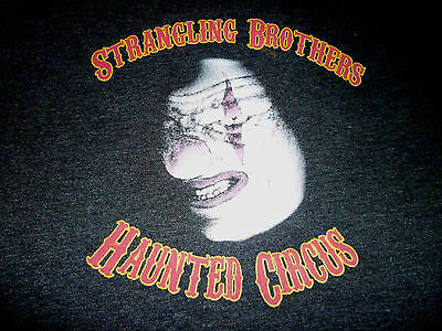 Strangling Brothers Hauntd Circus Shirt ( Used Size L ) Nice Condition!!!