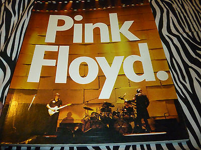 Pink Floyd: The Visual Documentary By Miles  Rare 1980 Paperback!!!