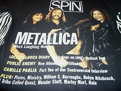 Metallica / Spin Shirt ( Used Size L ) Nice Condition!!!