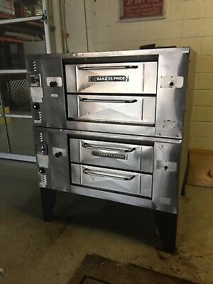 Bakers Pride - Double Stack Pizza Oven - Good Clean Condition - Easy Yes