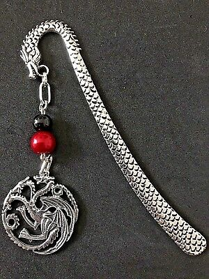 Game of Thrones Inspired Targaryen Bookmark