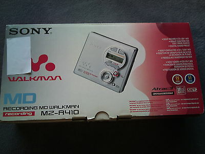 Sony MZ-R410 SILVER RECORDING MD WALKMAN