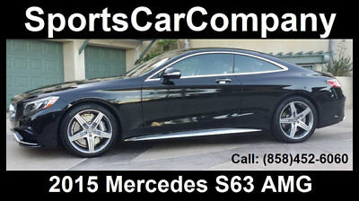 2015 Mercedes-Benz S-Class S63 AMG 2015 MERCEDES BENZ S63 AMG LOADED LOW MILE(Just 5k miles) INSIDE&OUT CALL TODAY!