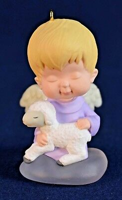 1996 Hallmark Mary's Angels Violet Keepsake Ornament 9th in The Series