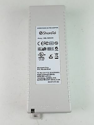 Microsemi ShoreTel Gig Poe Adaptor PD-350G/AC 2 Pieces